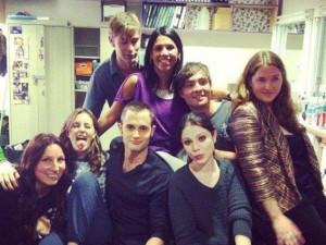 Dopo l'ultima puntata di Gossip Girl 6 il cast festeggia (FOTO)