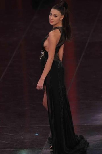 Belen Rodriguez a Sanremo