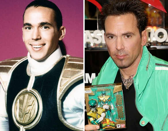 Agree, this Original power rangers then and now understand you