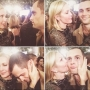 Kelly Rutherford e Penn Badgley al party di chiusura