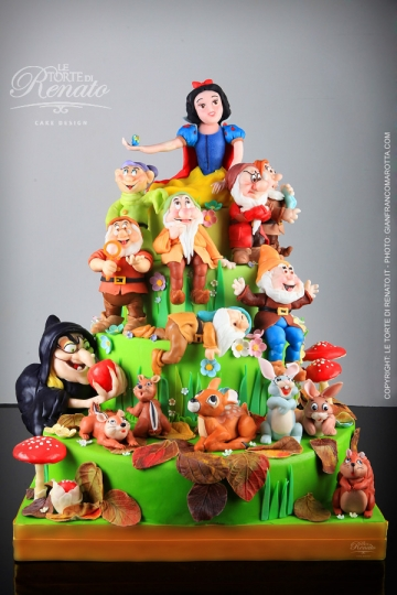 Disney Grumpy Birthday Cake