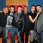 Con il cast di social club