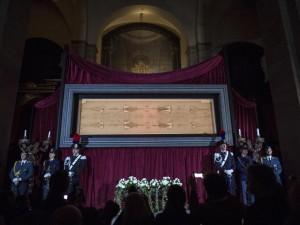Anteprima stampa dell'Ostensione della Sindone nel Duomo di Torino