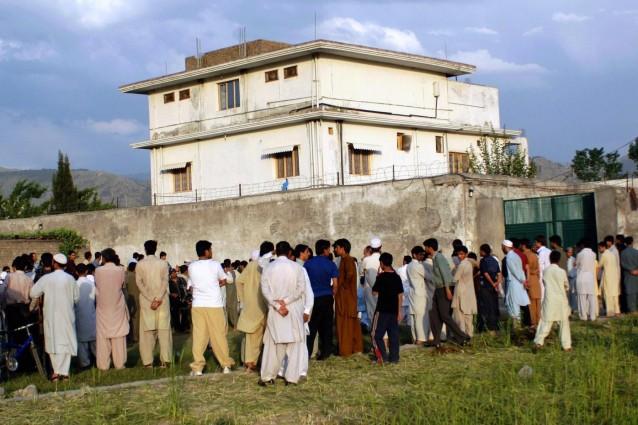 Demolizione ultimo nascondiglio di Bin Laden
