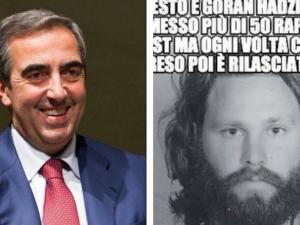 """Gasparri e la gaffe su Jim Morrison: """"Non lo conosco, i suoi fan tutti drogati"""""""