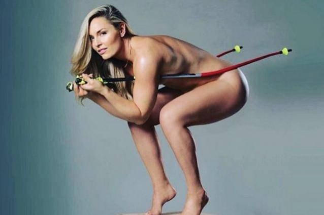 Lindsey Vonn Hot: la sciatrice americana si mostra nuda su Instagram