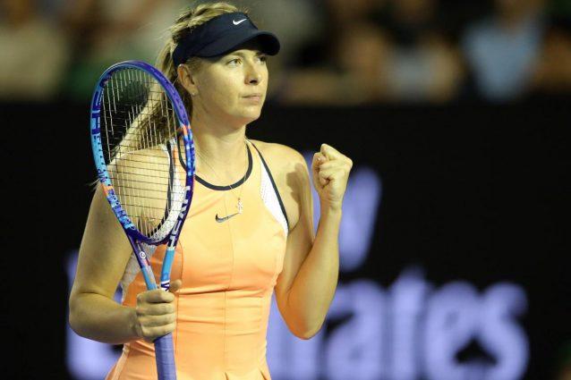 Doping: Sharapova, squalifica ridotta a quindici mesi