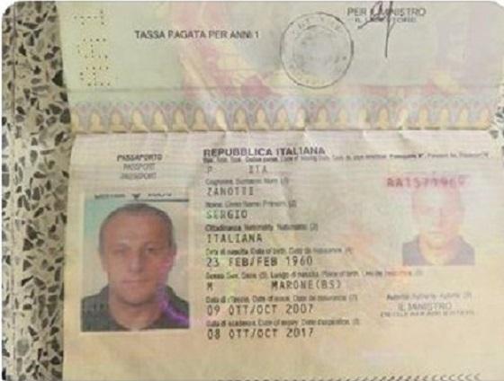 Siria, video su italiano rapito: si tratta di Sergio Zanotti