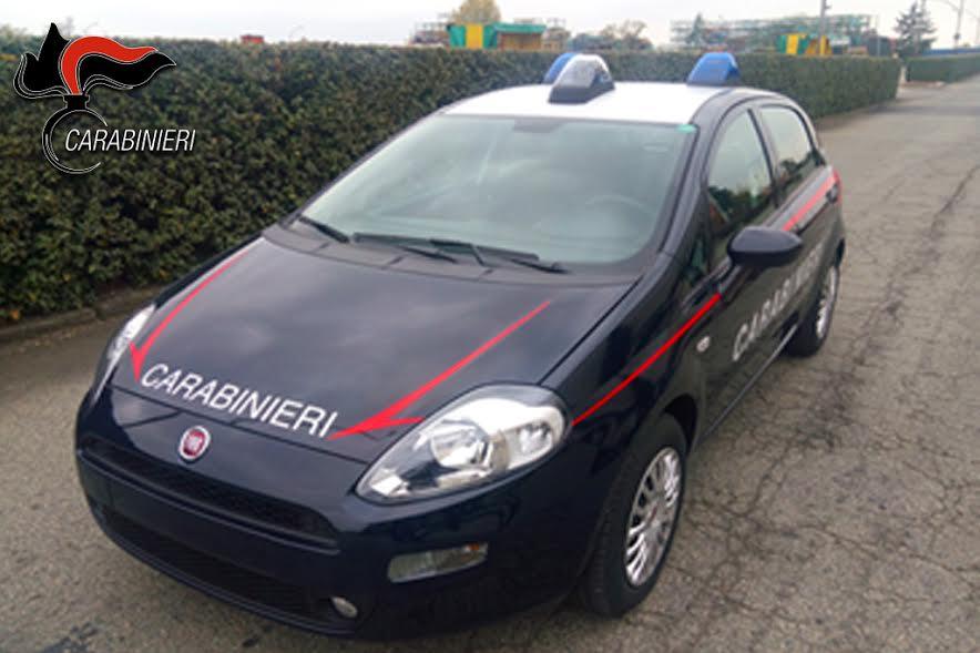 Carabinieri debuttano due nuovi veicoli una fiat punto e for Come ridurre il rumore nella cabina dell auto