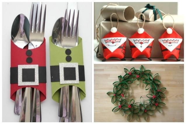 Addobbi di natale fai da te 10 idee originali per - Idee decorazioni natalizie fai da te ...