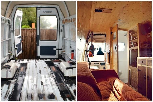 Da vecchio furgone a casa mobile come creare un camper fai da te