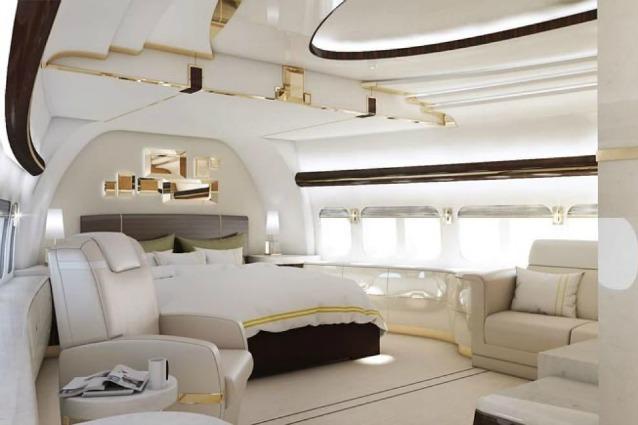 Aereo Privato Di Lusso : Un superyacht nel cielo boeing diventa jet