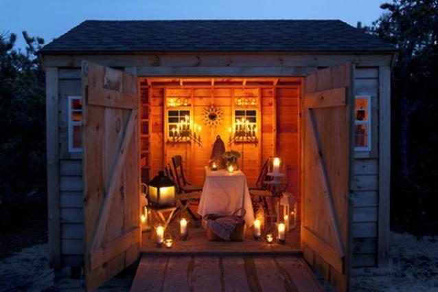 Tendenze da outdoor come trasformare il deposito per for Trasformare casa