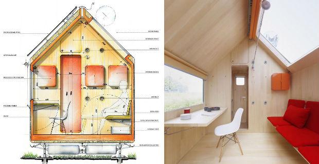 Renzo Piano La Casa Piu Piccola Del Mondo : Vivere in metri quadrati ecco la casa più piccola al