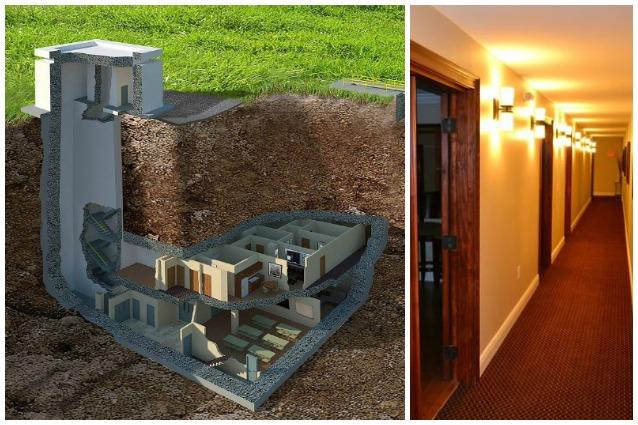 Da bunker a villa di lusso ecco la casa dove non verrete for Casa di lusso interni