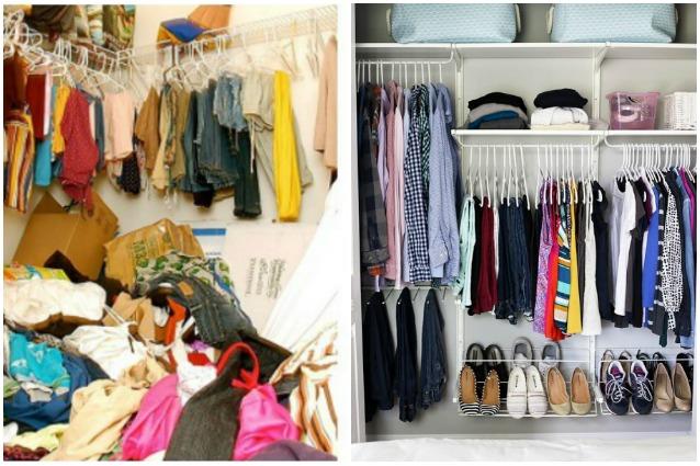 Riordinare l armadio rende felici e aiuta ad avere - Riordinare casa ...