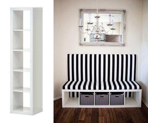Come trasformare i mobili ikea in arredi unici di design - Ikea mobili libreria ...