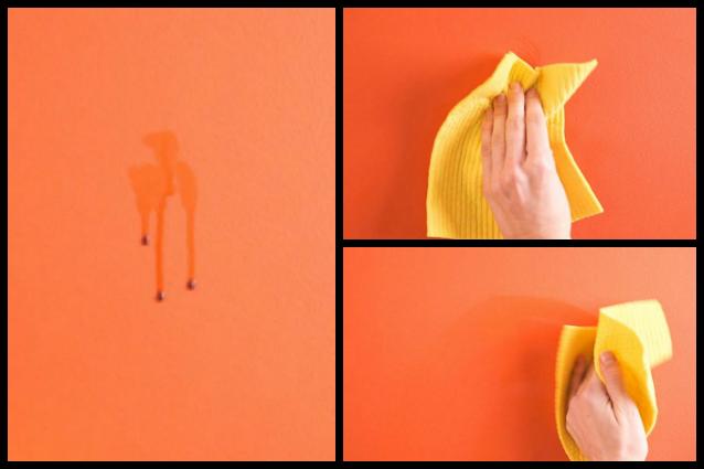 Addio macchie sui muri ecco la prima pittura lavabile al 100 - Macchie di umidita sui muri ...