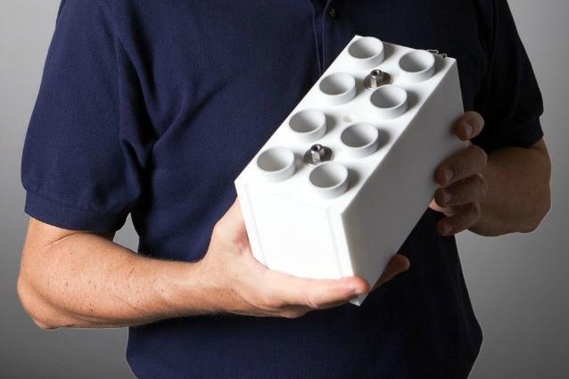 Sembrano mattoni lego ma realizzano case vere ecco un for Lego giganti arredamento