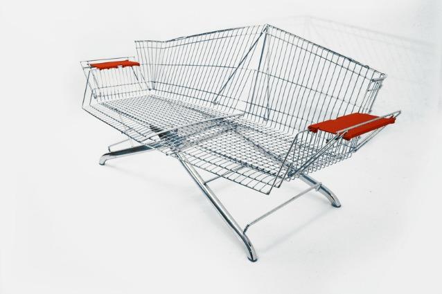 Carrello Da Giardino Usato : Come riutilizzare un vecchio carrello della spesa il riciclo