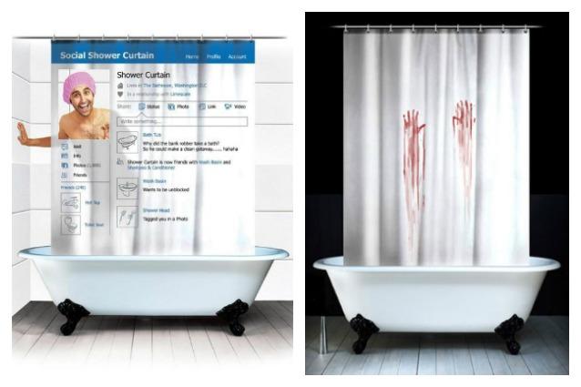 Tende Vasca Da Bagno: Bagno con vasca e tenda per doccia ...