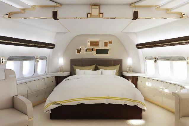 La Camera Da Letto Piu Grande Del Mondo : Boeing vip ecco il jet privato più lussuoso del mondo