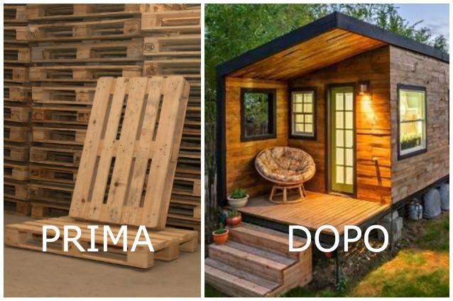 Come costruire una casa con i pallet e spendere meno di 100 euro - Come si vende una casa ...