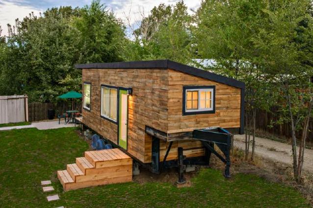 Come costruire una casa con i pallet e spendere meno di - Arredare casa con 10000 euro ...