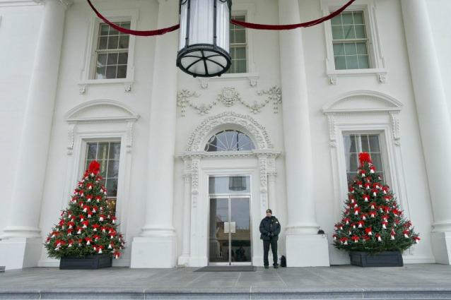Decorazioni Per Casa Di Natale : Natale alla casa bianca ecco le decorazioni per le feste