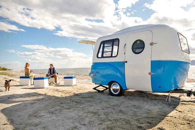 Idee Per Interni Camper : Ecco il camper più felice un rimorchio dallo stile rétro e dagli