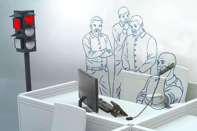 Busylight ecco il semaforo da ufficio per avere privacy for Musica rilassante da ufficio