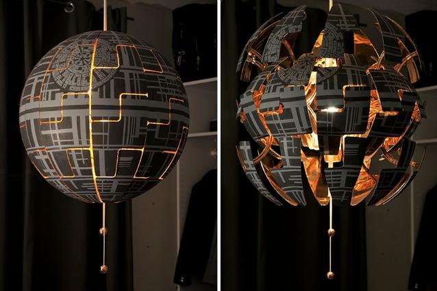 Come trasformare la lampada ikea ps nella morte nera di star wars