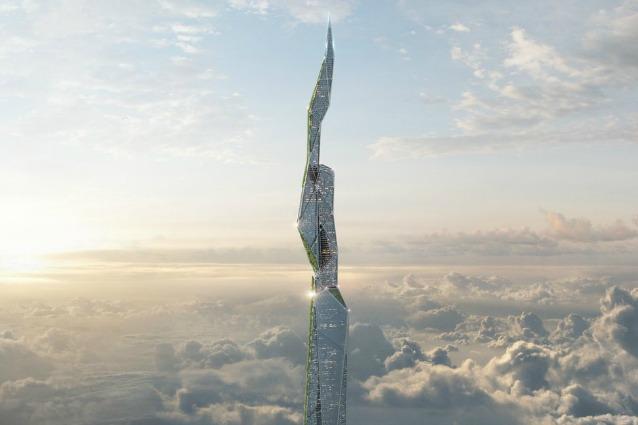 Ecco il primo grattacielo al mondo che mangia lo smog