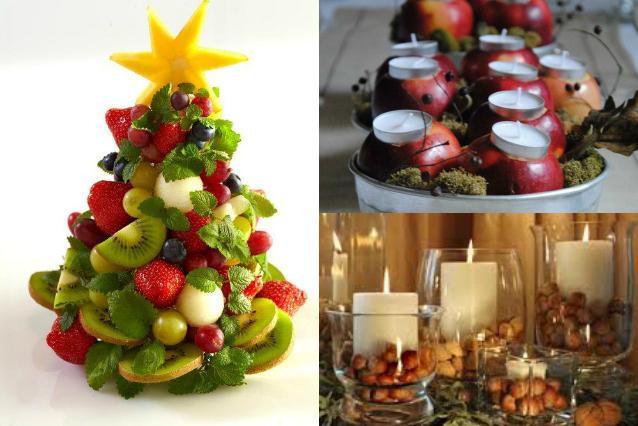 Centrotavola di natale fai da te 5 idee originali - Decorazioni natalizie con le pigne ...