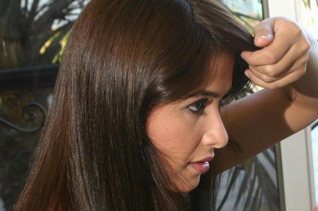 I rimedi naturali per coprire i capelli bianchi dal cacao - Bagno di colore copre i capelli bianchi ...