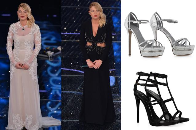 Emma Marrone a Sanremo 2015 la principessa indossa solo ...