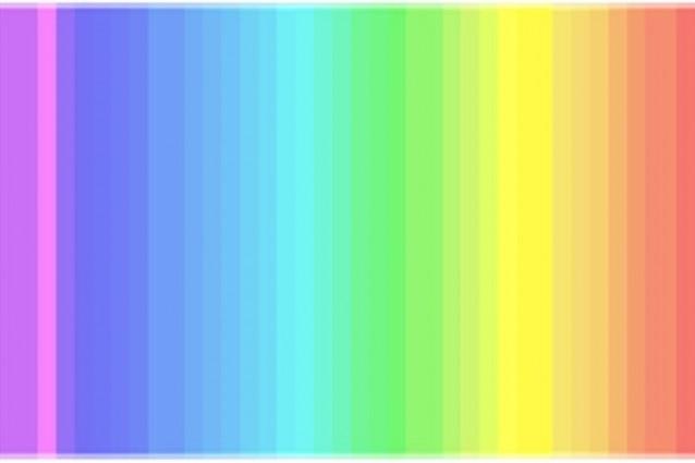 Thedress la percezione dei colori divide la popolazione - Arcobaleno a colori e stampa ...