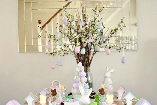 Albero di pasqua come farlo e idee per decorarlo - Decori pasquali per la casa ...
