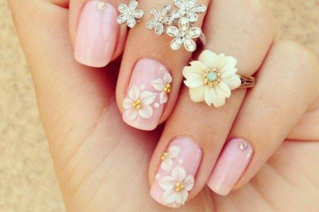 Preferenza Le unghie della settimana la manicure floreale (FOTO) KE03