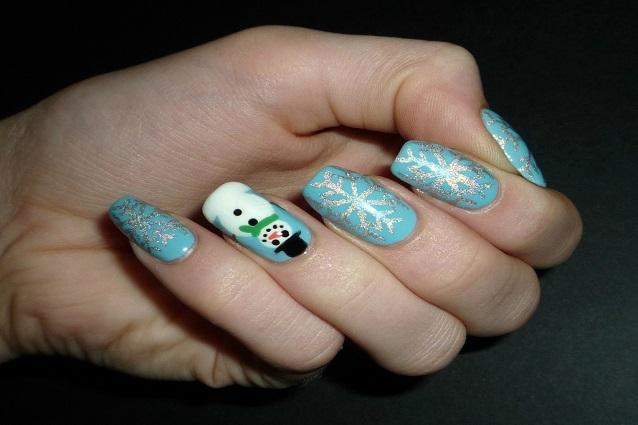 Unghie di natale 2015 tutte le decorazioni fai da te for Decorazioni natalizie unghie