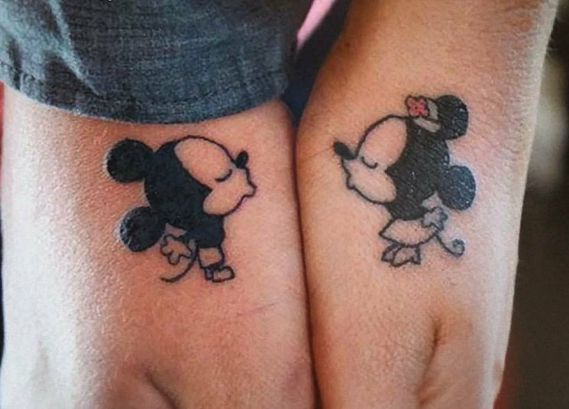 Amato Tatuaggi di coppia: le idee più originali da realizzare con il  UX77