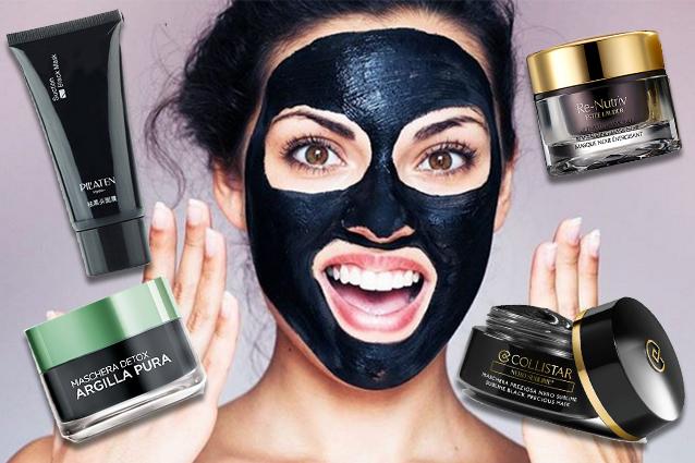 Medicine per cura di acne su una faccia