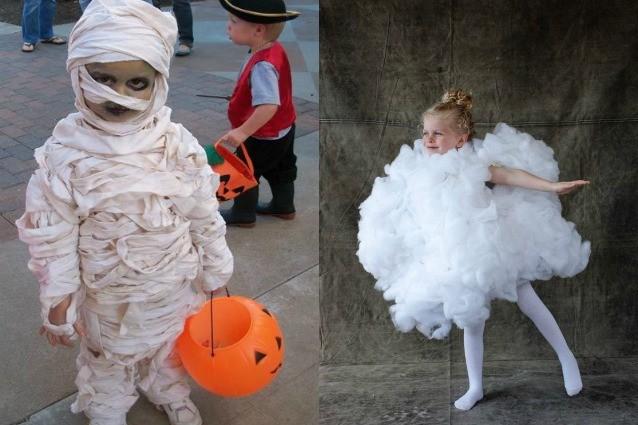 Costumi di Halloween fai da te per bambini: idee originali e facili da ...