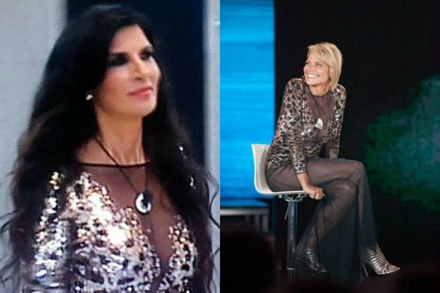 Simona Ventura: Pamela Prati copia il suo vestito? LA FOTO