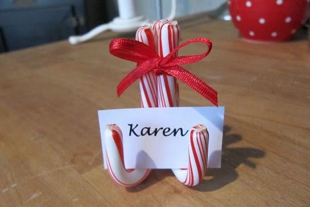 Segnaposti natalizi le idee fai da te per rendere unica la for Segnaposto natale fai da te