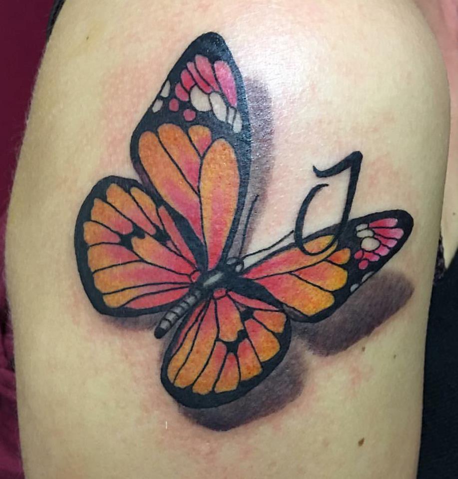 Tatuaggi farfalle significati e idee da realizzare foto for Disegni fiori per tatuaggi