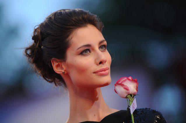 Sanremo: Marica Pellegrinelli incanta l'Ariston. Le foto più belle