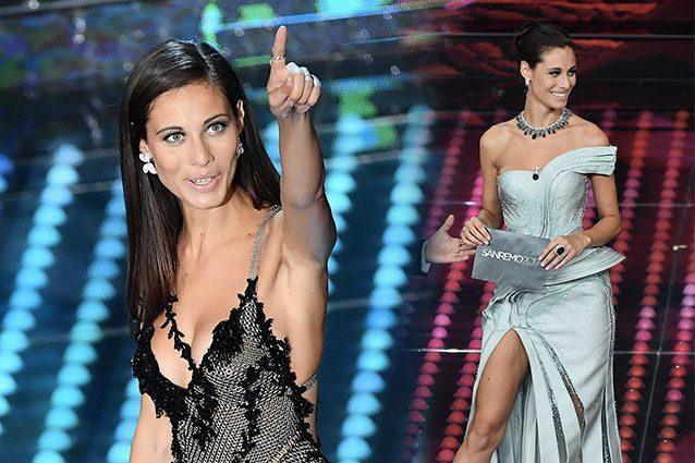 Sanremo 2017, è Marica Pellegrinelli la più sexy del Festival