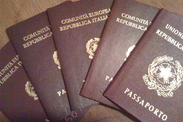 Passaporto italiano: istruzioni per ottenerlo.