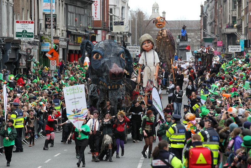 La parata della festa di san patrizio 2012 e il programma for Design parade milano